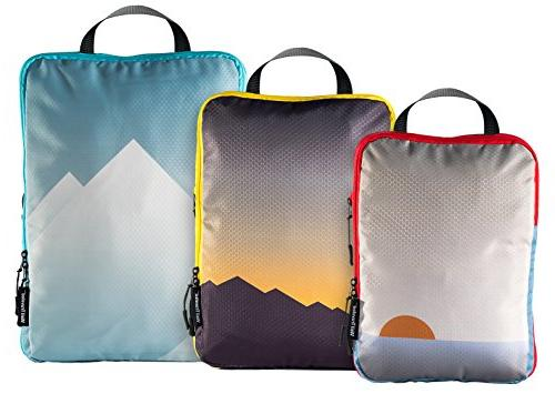 Well Traveled Compression Packing Cubes for Travel - Travel