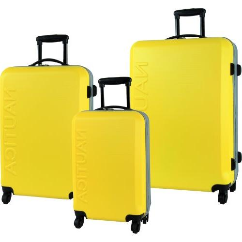 ahoy hardside luggage set