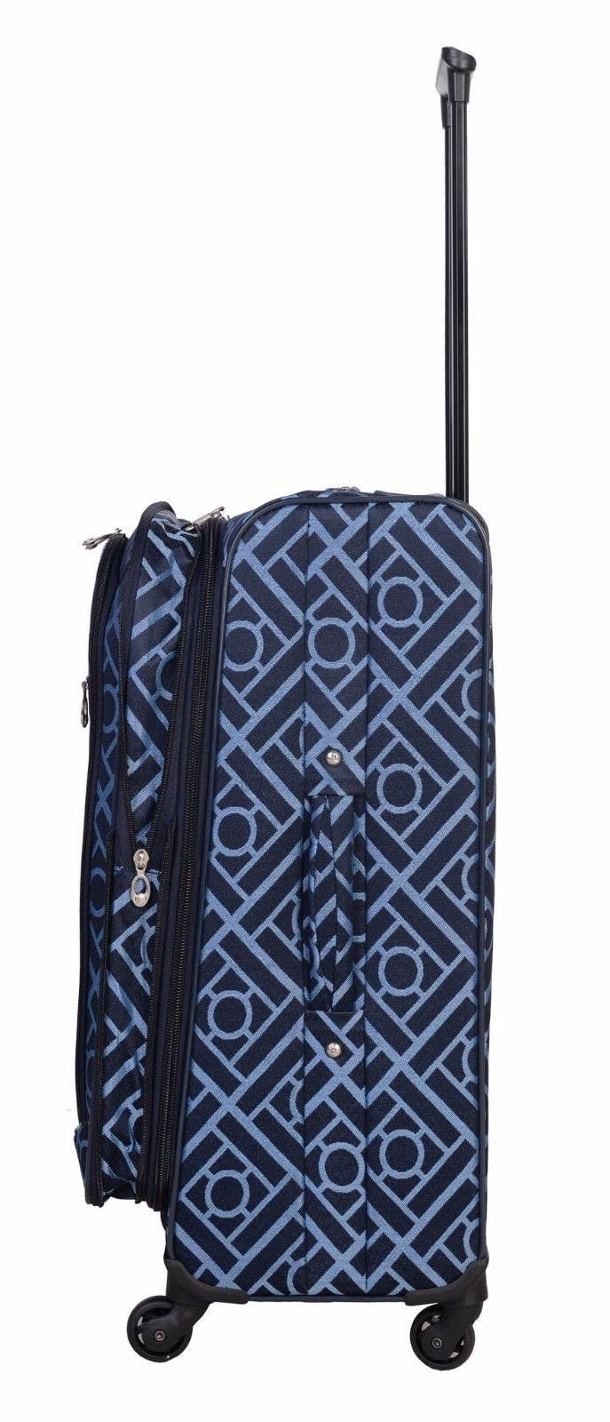 American Piece Spinner Luggage Set Blue