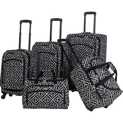astor collection 5 piece spinner luggage luggage