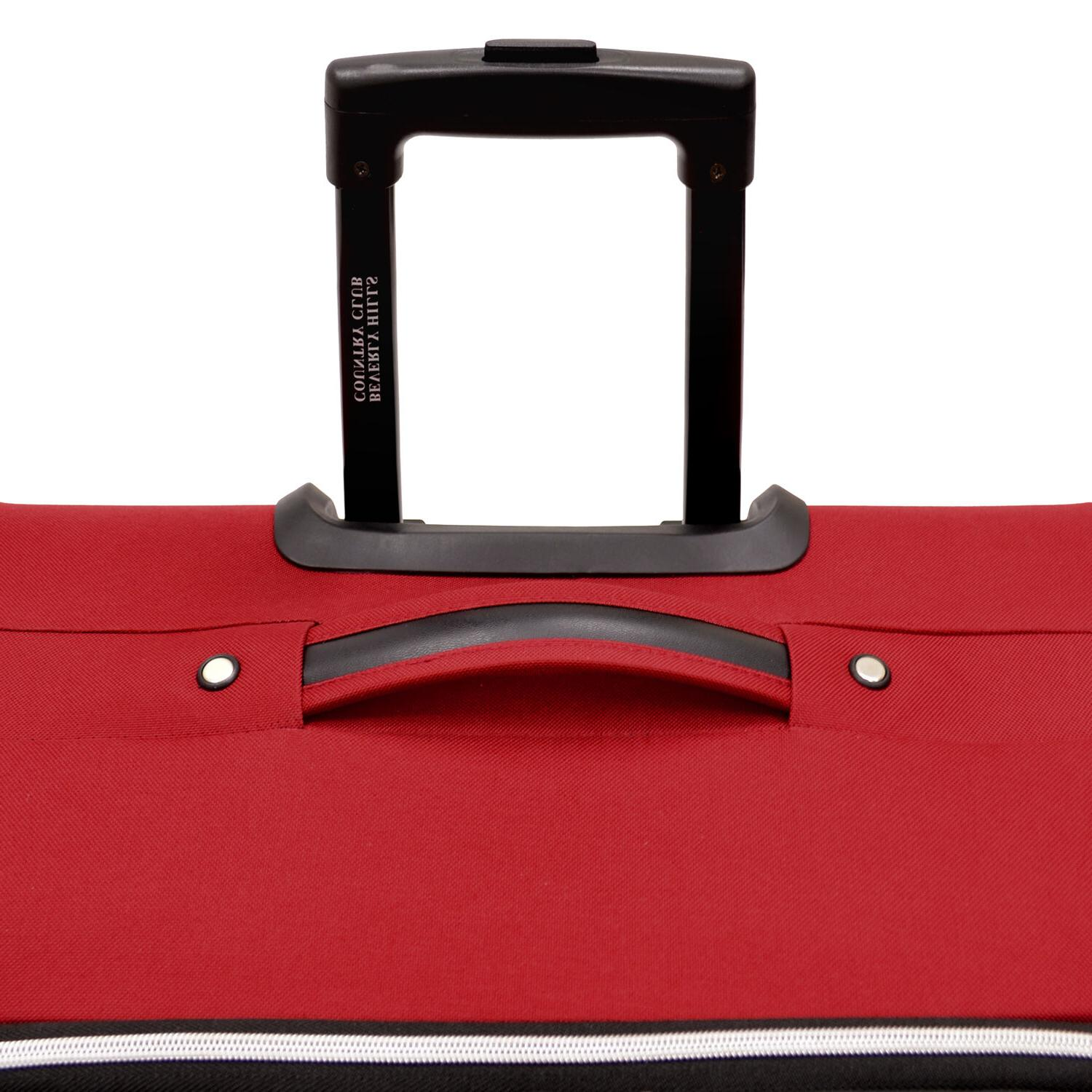 Beverly Club Red Duffel Luggage