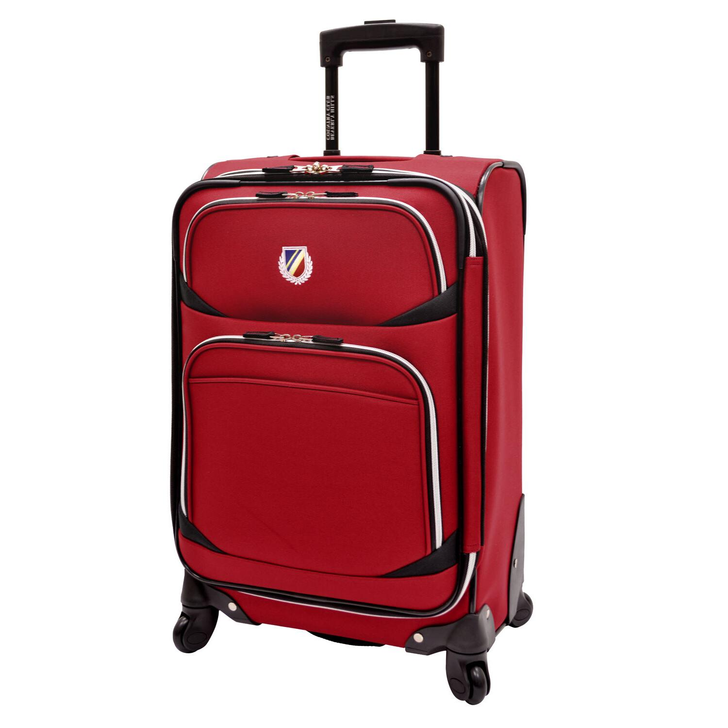 Beverly Hills Country Red San Spinner Duffel Luggage