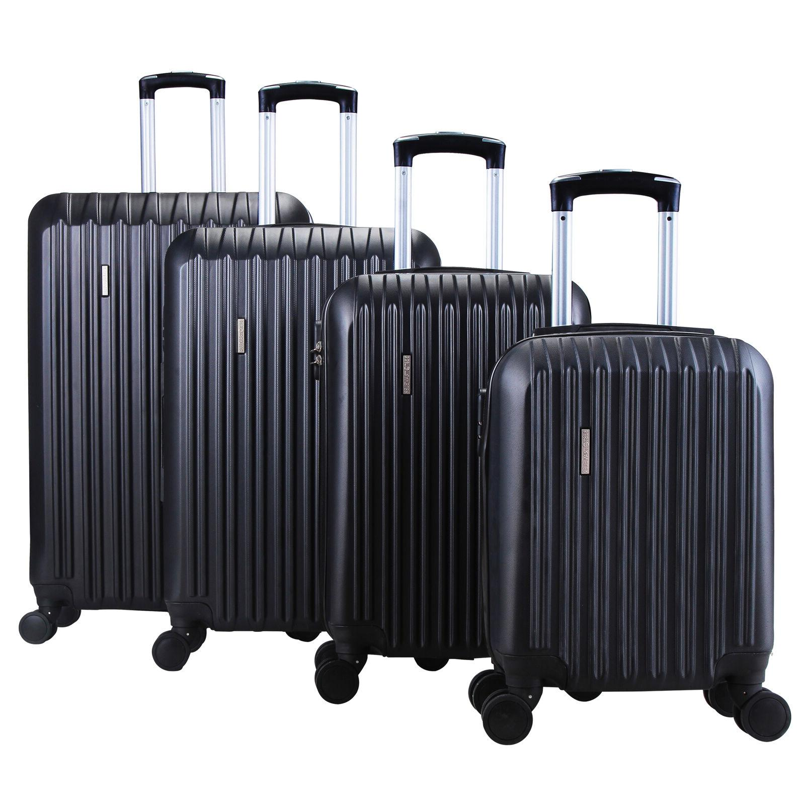 "4 ABS Luggage Set Light Travel Case Hardshell Suitcase 16""20""24""28"""