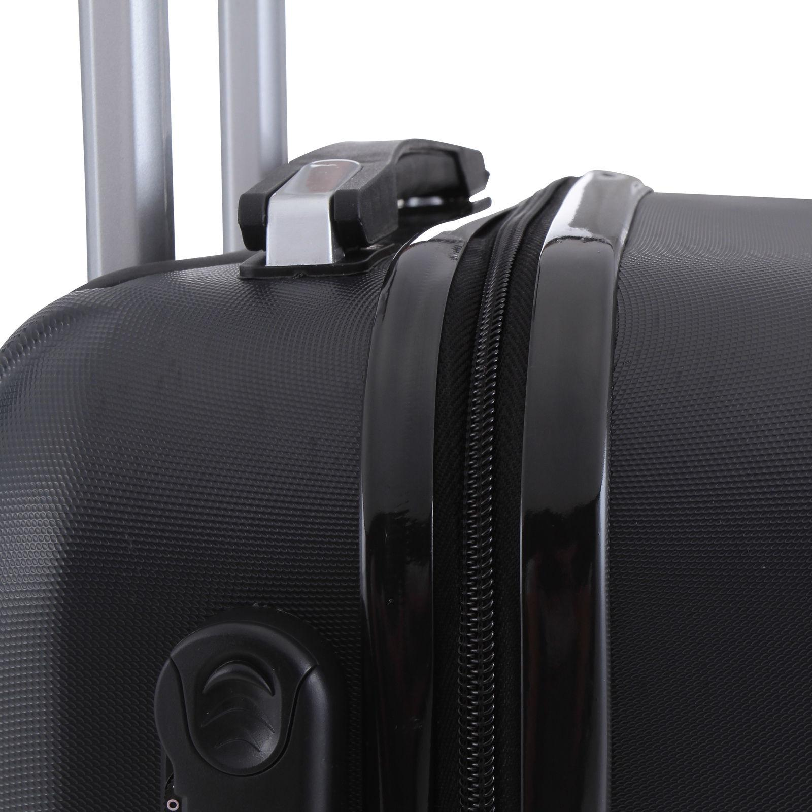 4 ABS Luggage Set Light Case