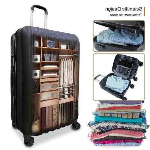 4 Piece ABS Set Travel Hardshell