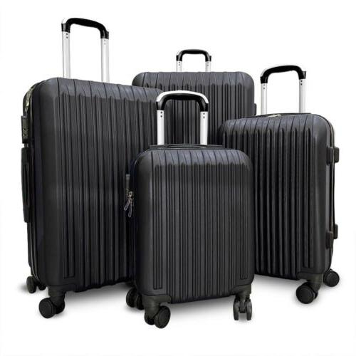 4 ABS Set Light Case Hardshell Suitcase