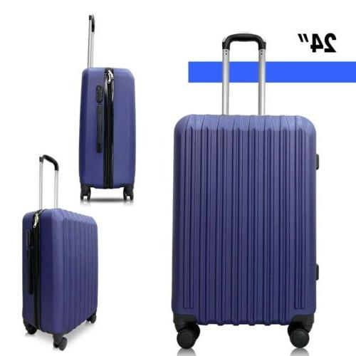 "4 Piece ABS Set Hardshell Suitcase 16""20""24""28"""