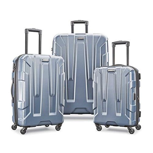 centric expandable hardside luggage set with spinner