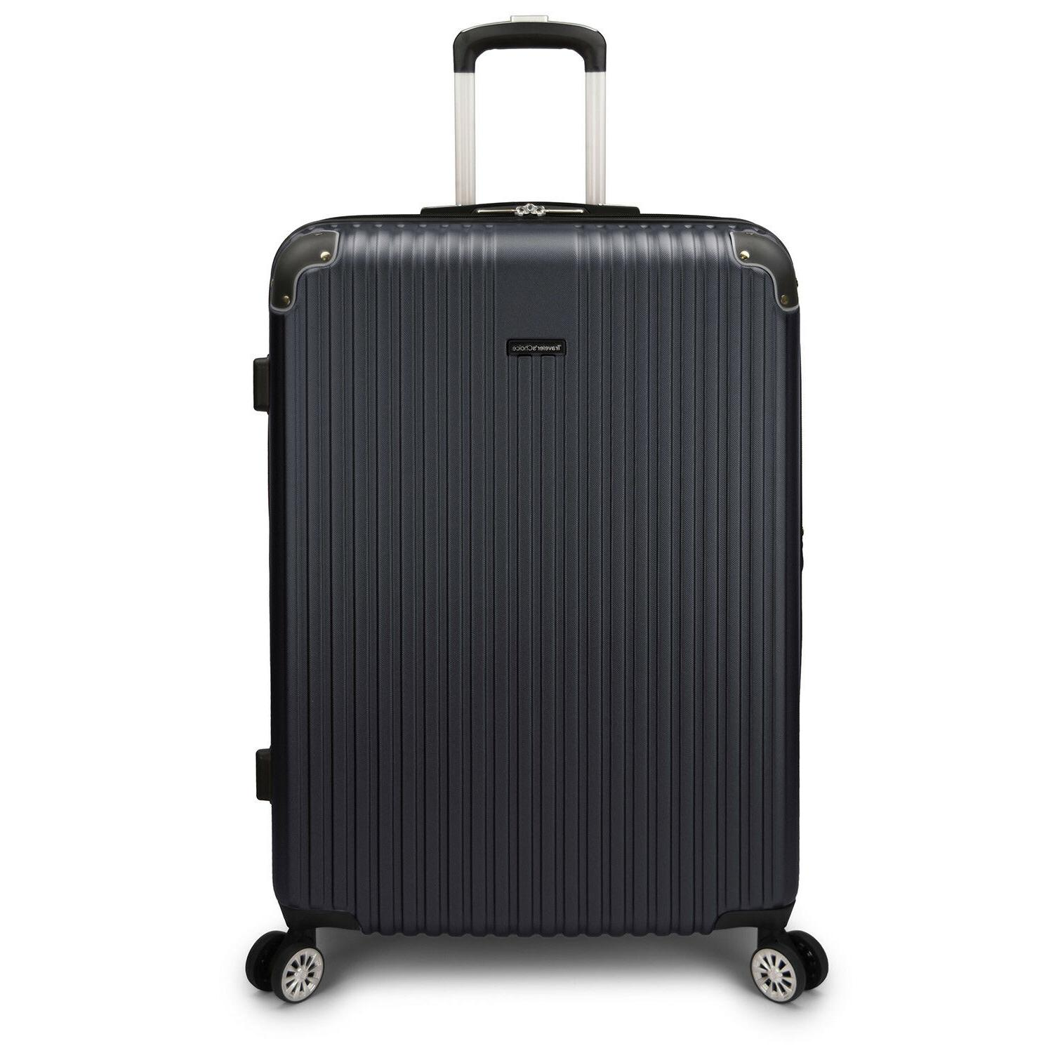 Charvi 3pc Hardside 8-Wheel Luggage w/Matching