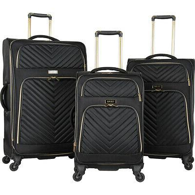 chelsea 3 piece expandable luggage set new