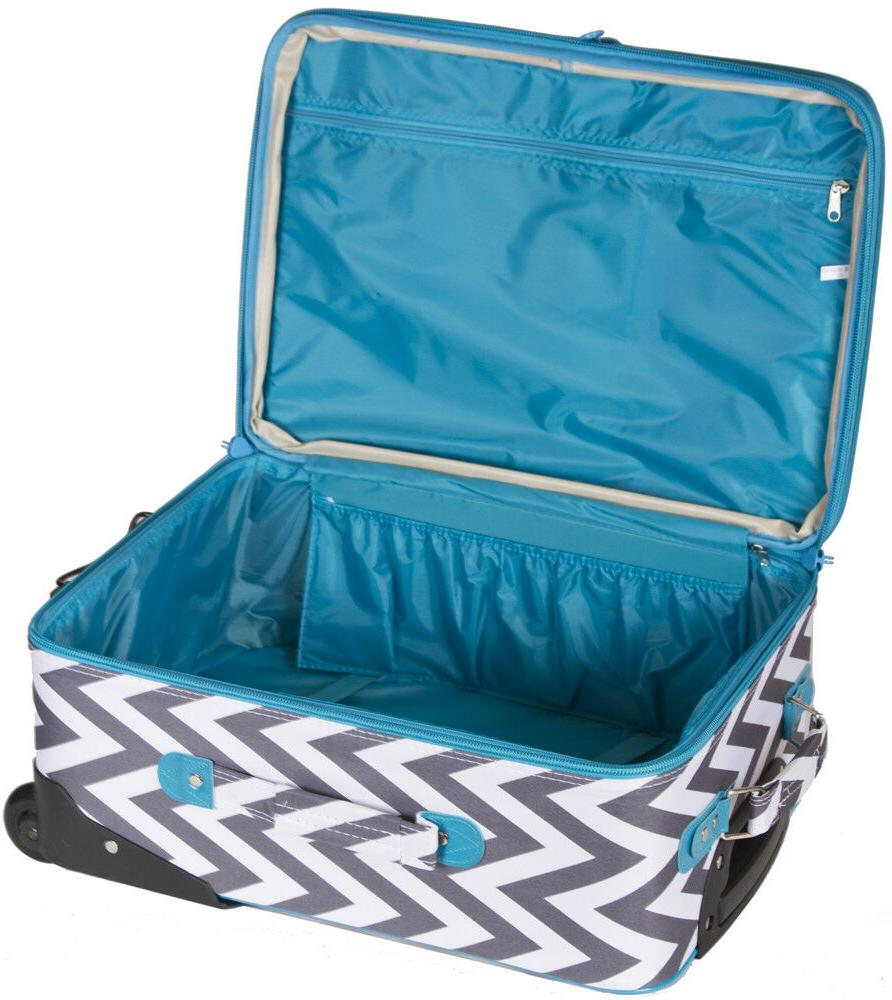 Chevron Striped 3 pc for Soft Sided Check In