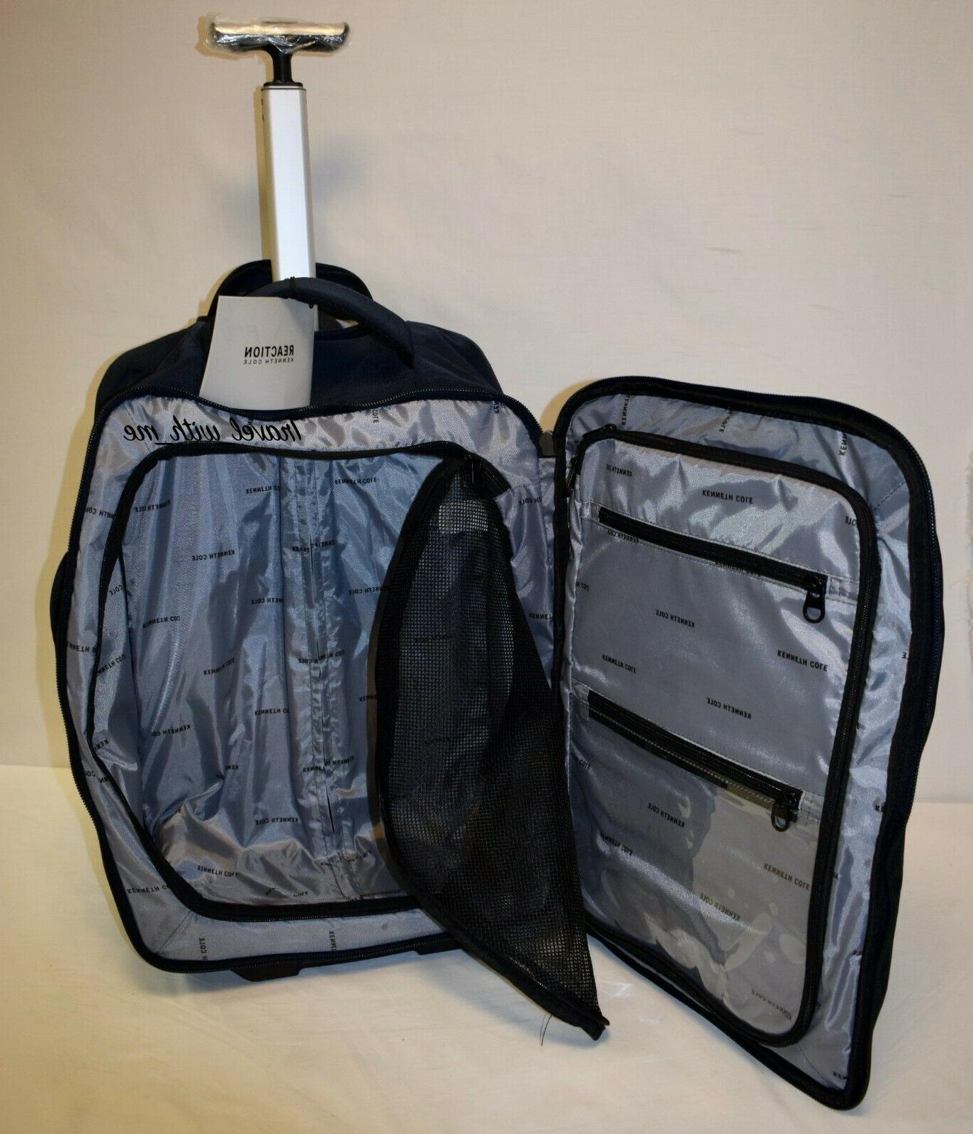 Kenneth Cole Reaction 4 Piece Light Navy Luggage On