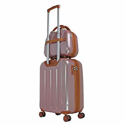 World Classique Spinner Luggage - Rose Gold