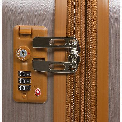 World Traveler Spinner Set - Rose Gold