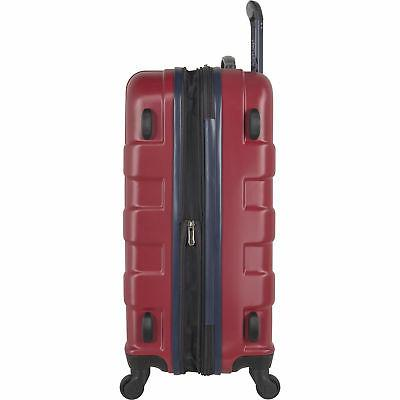 Nautica Navy 3 Hardside Spinner Luggage