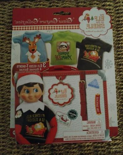elf on the shelf graphic tee multipack