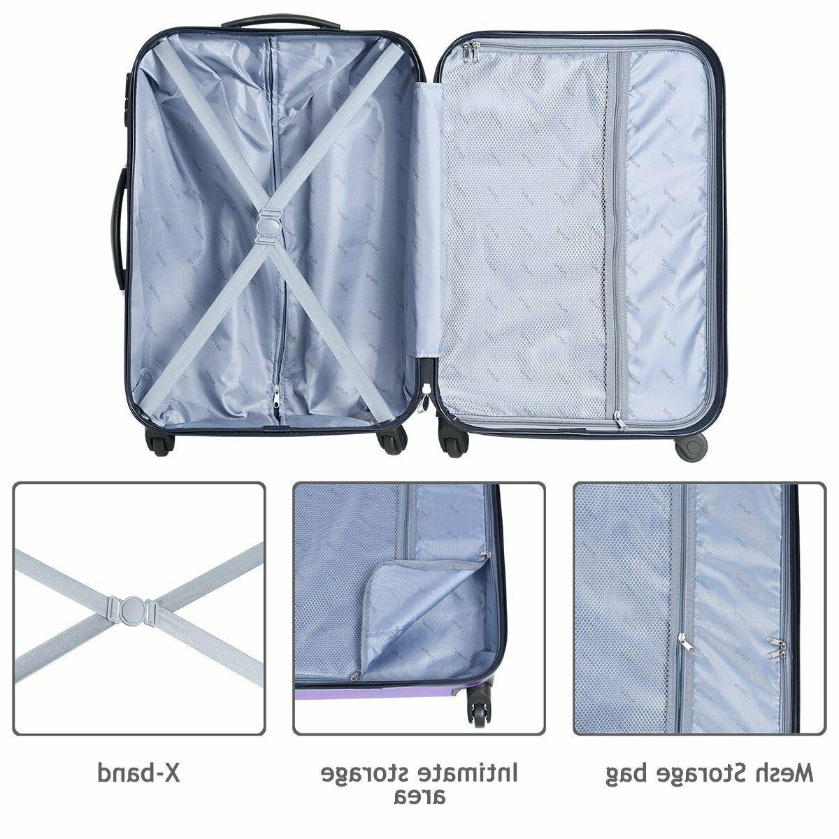 Rolling Luggage Sets with Spinner