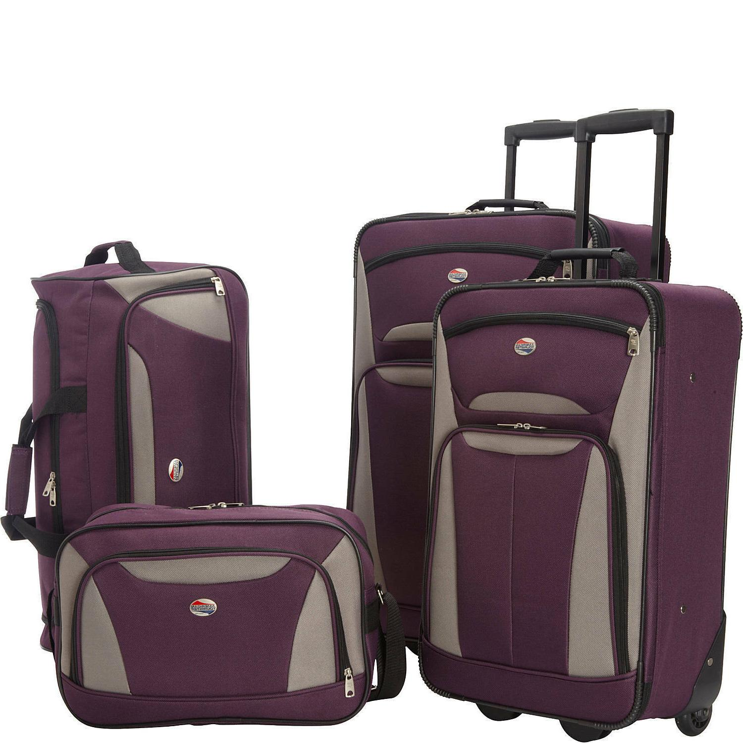 American 4-Piece Nested Luggage Set -