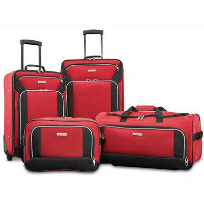 American Tourister 4 Set - Red