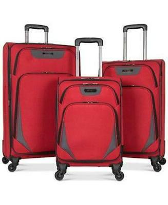 going places 3 piece spinner luggage set
