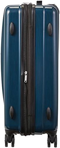 AmazonBasics Hardshell Spinner - 3-Piece , Navy Blue