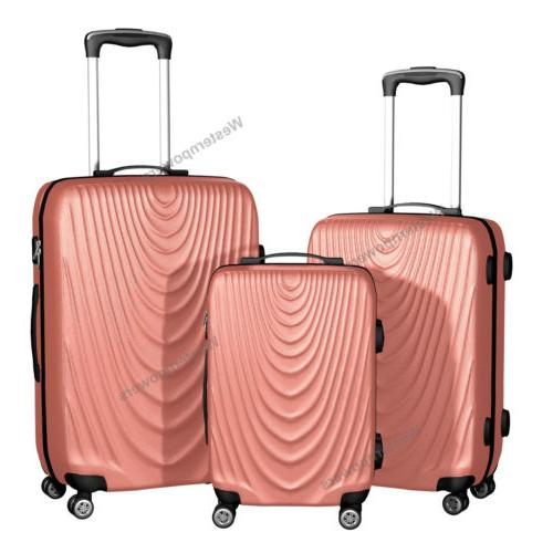 Hardside Spinner Set 3 piece 20'' 24'' Trolley