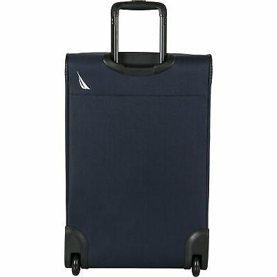 Nautica Point Gold 3 Wheeled Luggage