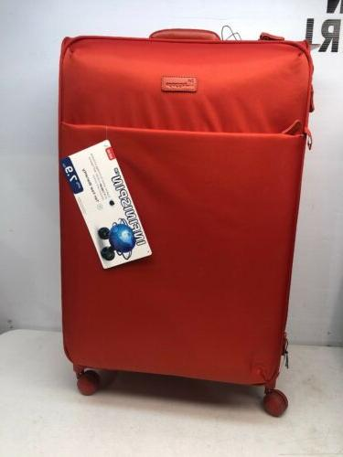 It Luggage Infinispin Expandable Red Luggage