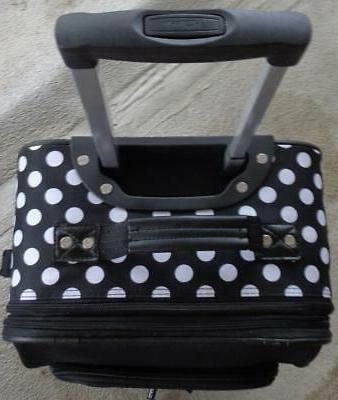 Olympia Juliet Pattern Luggage Set NEW GREAT POLKA DOT