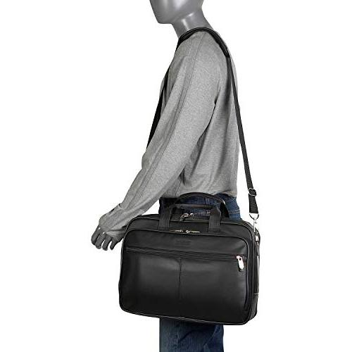 Kenneth Reaction Leather Compartment Laptop