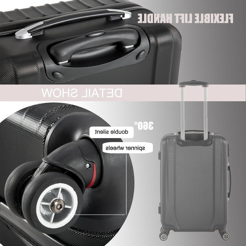 LightWeight Hardshell Sets 3 Hardside Suitcase
