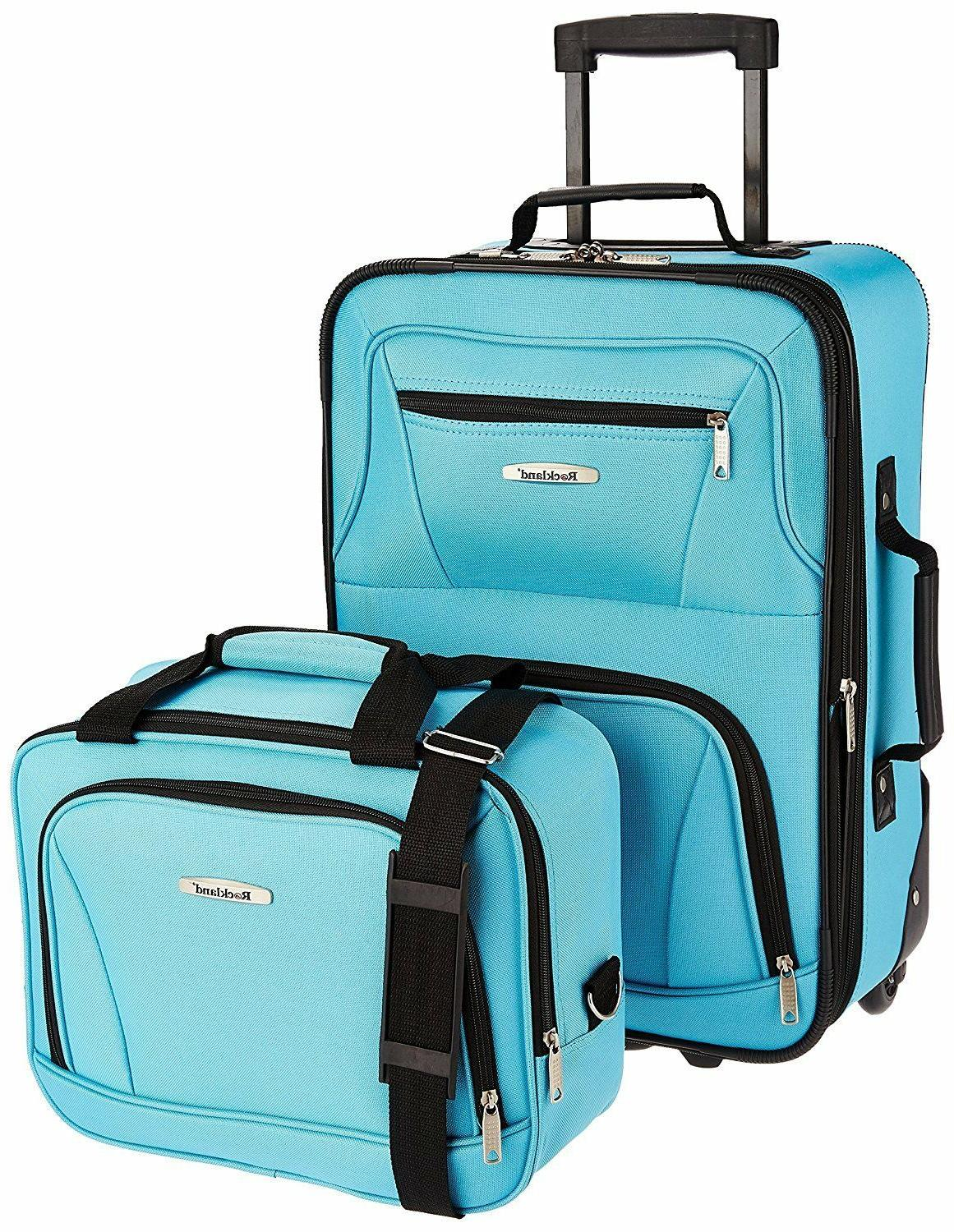 Rockland Set, One Size,Zipper,Travel,Clothes,Security,Shoes,Bags