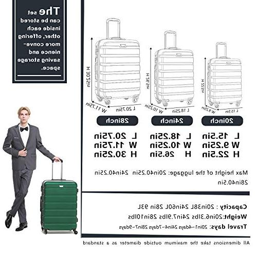 Set Suitcase Lightweight