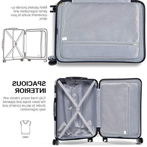 Coolife Luggage Piece Sets 28