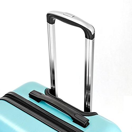 Goplus 3PC Lightweight Travel Trolley Expandable