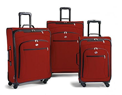 luggage at pop 3 piece spinner set