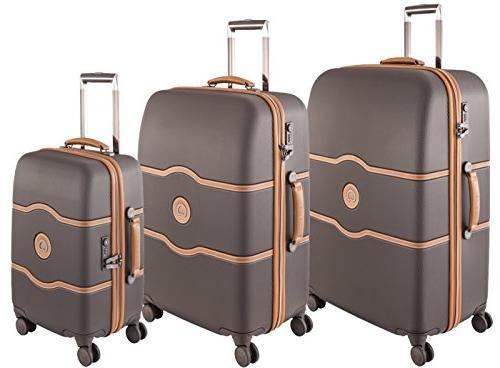 luggage chatelet hard 3 piece set spinner