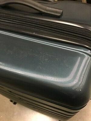 COOLIFE Suitcase PC+ABS w/ TSA Spinner Teal