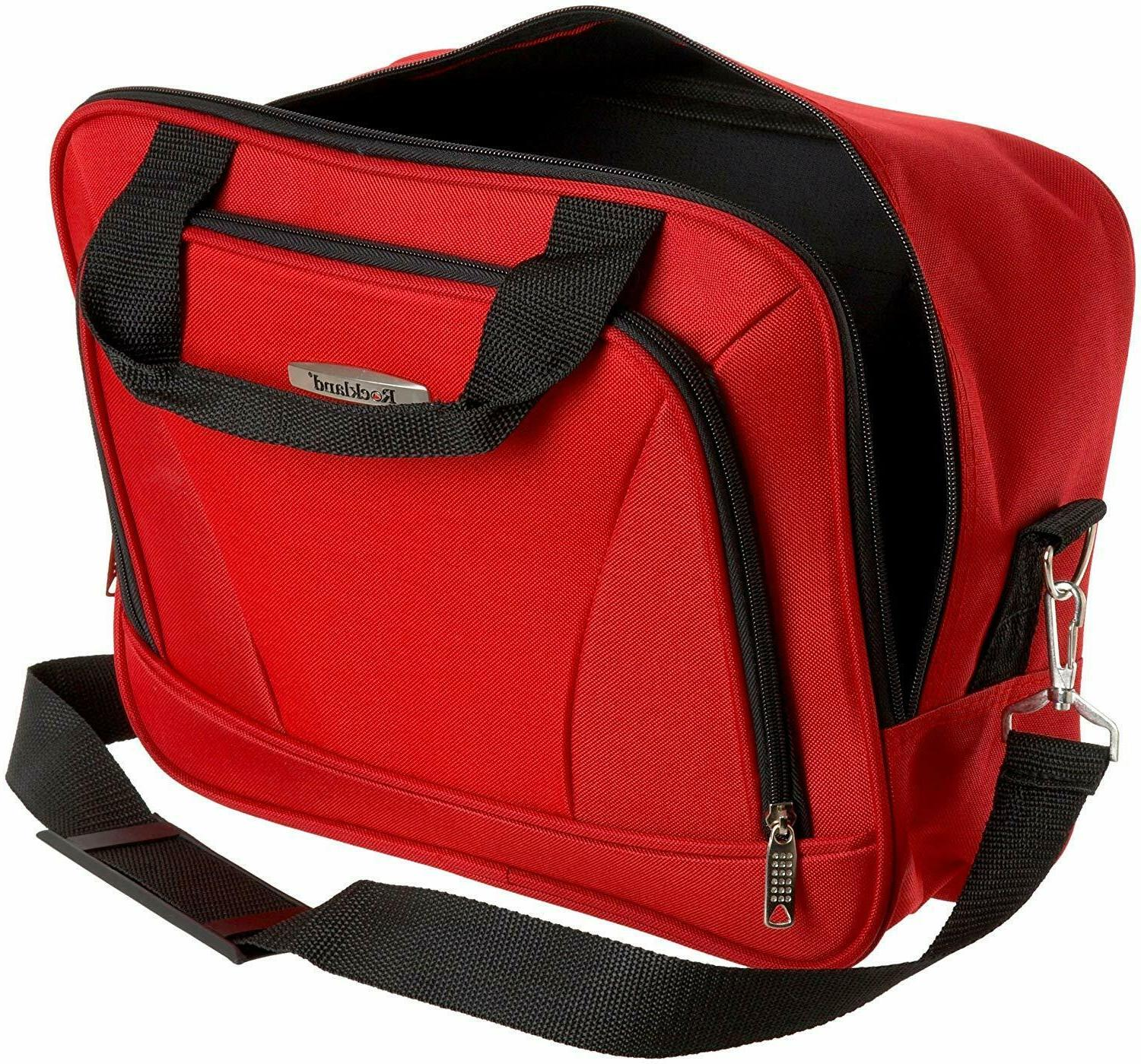 Rockland Luggage 4 Piece Red