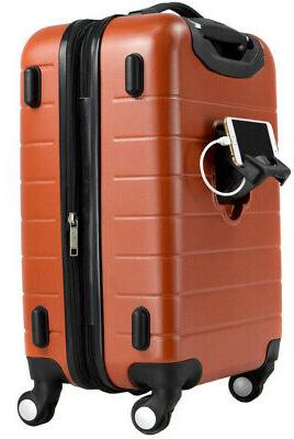 Luggage ABS with 4 Spinner Wheels and