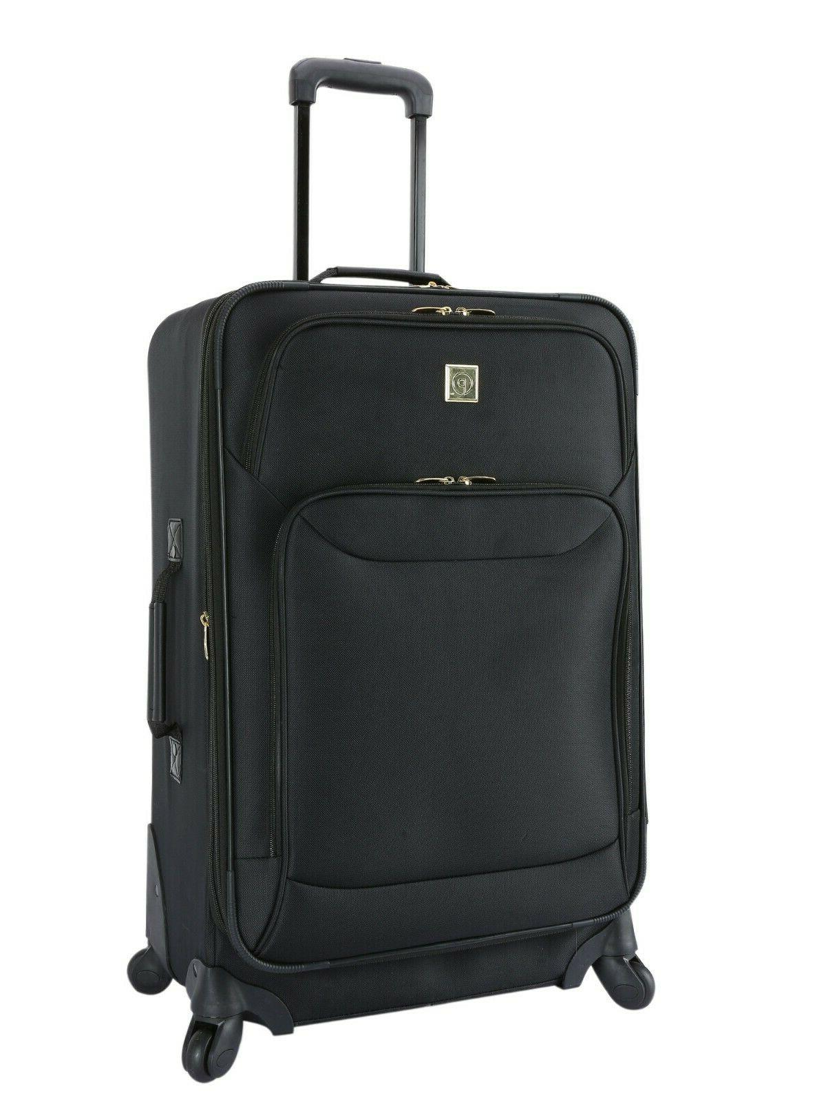 Luggage Set Piece Spinner Top Quality- 21 and inch BLACK