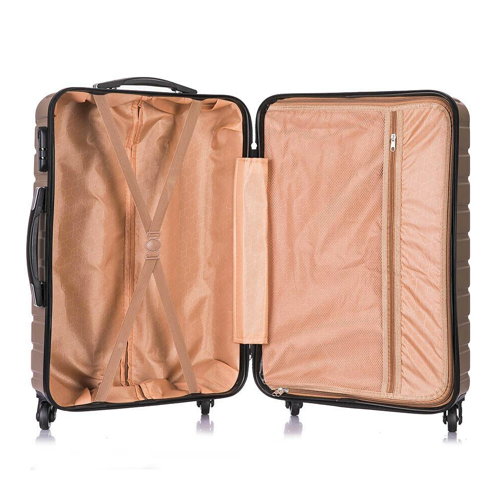 Luggage Travel Bag Trolley Spinner ABS Business Hard of