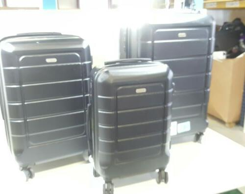 luggage sets expandable suitcase double wheels tsa