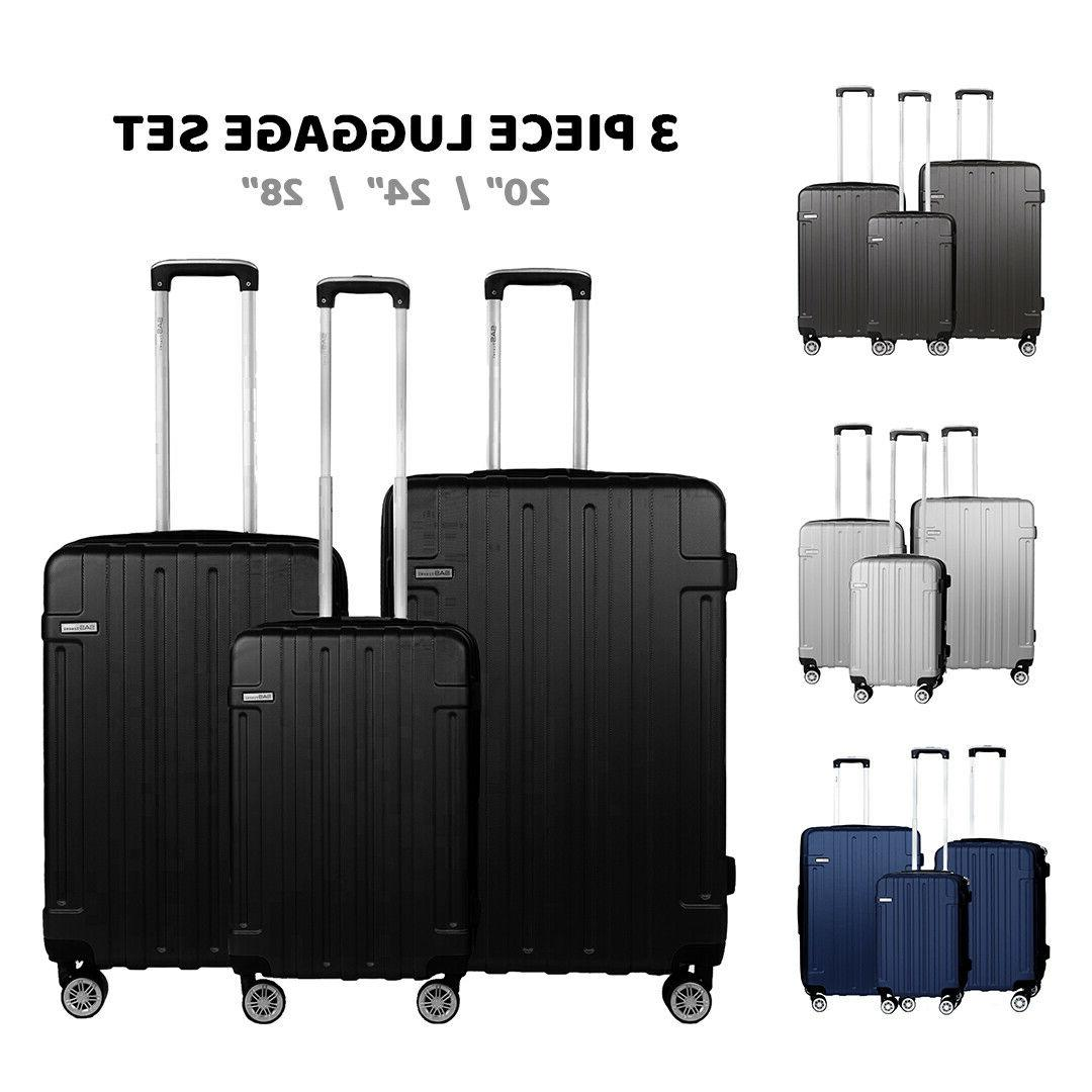 Luggage Sets Hard Shell With Spinner Wheels Suitcase With Wh