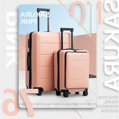 COOLIFE Luggage Set Spinner Trolley with