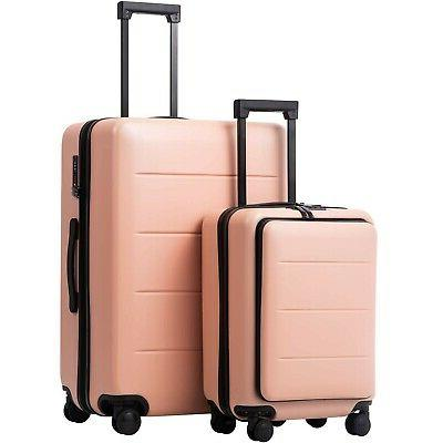 luggage suitcase piece set carry on abs