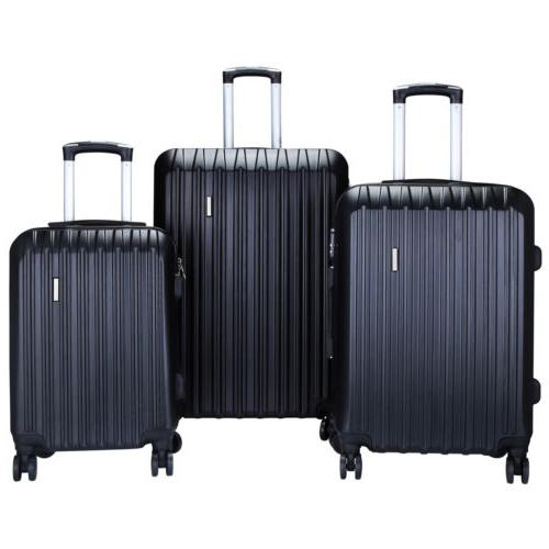 Luggage Travel Set ABS 360° Carry On Lock