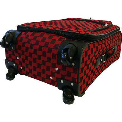 American Flyer Piece Spinner Luggage 3