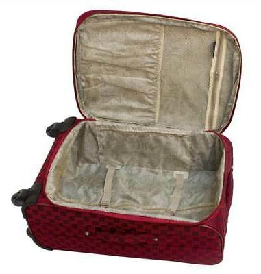 American Spinner Luggage Set in Red
