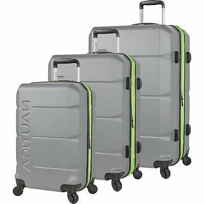 marine grey lime 3 piece expandable spinner